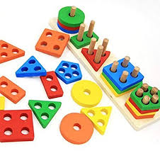 Wooden Educational Preschool Toddler Toys for 1 2 3 4 5 Year Old Boys Girls Shape Amazon.com: