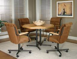 Natural Appeal Rattan Dining Chairs Creativity With Ca  Lpuite - Casters for dining room chairs