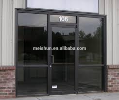 Hot Sale Style Double Glazed Aluminium Swing Glass Door - Buy ...