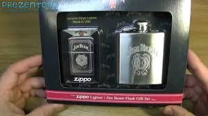 Набор zippo 28414 jim beam flask set