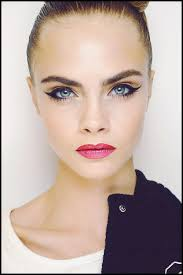 cara delevingne s cat eye look