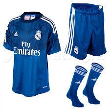 从 照片图像 Celka Azul Portero 图像 照片 Equipacion Real Madrid Junior