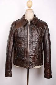 HARLEY DAVIDSON 1930s Style Horsehide <b>Leather</b> Motorcycle ...