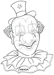 Pennywise The Dancing Clown Coloring Pages Coloring Pages Evil Clown