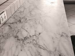 marble benchtop polish before