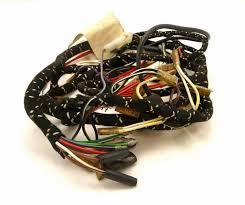 triumph t150 3 cylinder genuine lucas braided type wiring harness triumph t150 3 cylinder genuine lucas braided type wiring harness 54959646