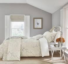 sanderson anthea grey linen duvet cover set superking to enlarge