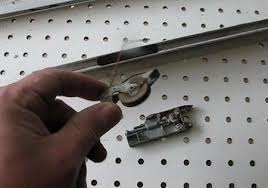 many rollerost corners can only be serviced by disassembling the frame so repair them now before spending any time re screening or you will just