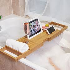 perfect bathtub book tray elaboration bathroom with bathtub ideas