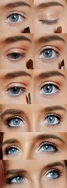 blue eyes you previous next how to do natural spring makeup easy diy look by makeup