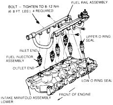 1991 ford ranger 3 0 a diagram of where the vacuum lines go Ford Ranger Motor Diagram Ford Ranger Motor Diagram #71 ford ranger 3.0 motor diagram