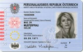 Austria Buy Store Fake Online - X Id In Notes Cards Documents