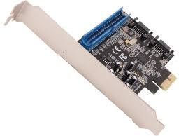 ide cards syba si pex40059 pci express 2 0 x1 low profile ready sata ide combo controller card