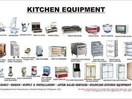 kitchen furniture names. Kitchen Utensils Clipart And Names Furniture