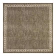 sparrow hazel nut bone white 8 ft x 8 ft square area rug