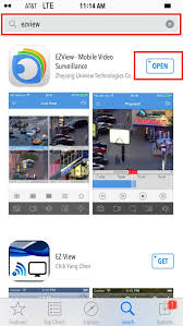 uniview install and configure ezview on your iphone or ipad