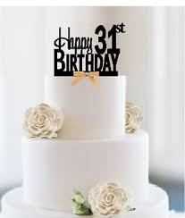 Cakesupplyshop Item031grct 31st Birthday Anniversary Cheers Soft