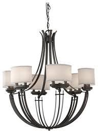 murray feiss brody 12 light iron chandelier f2677 12ci