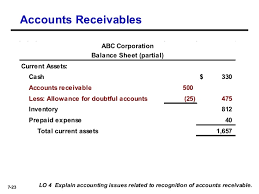 allowance for uncollectible accounts balance sheet chapter 7 intermediate 15th ed