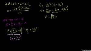 solve quadratic equations with the quadratic formula practice khan academy
