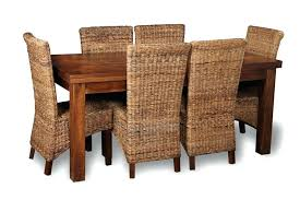 dining table with wicker chairs marvelous cane dining room chairs in other table with rattan house dining table with wicker chairs