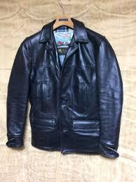 ultimate beautiful goods special order hose leather aero leather car coat 32