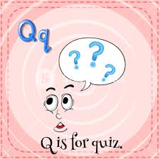 Illustration Of A Letter Q Is For Quiz Royalty Free Stock Image