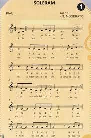 Klik saja di sini, untuk mulai mengunduh partitur lagu! Not Angka Lagu Pianika Soleram Lagu Daerah Riau Pianika Recorder Keyboard Suling Not Angka Pianika Lagu Terlengkap