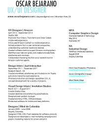 Ux Designer Resume Barraques Org