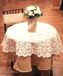 the lace ribbon burlap for wedding and special events inside ivory round tablecloth designs white tablecloths decoration white tablecloth for inch round