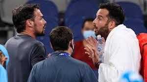 Australian Open 2021 Video: Fabio Fognini and Salvatore Caruso in  post-match spat