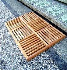 wooden shower mat teak mats this item will be shipped on march ireland wooden shower mat