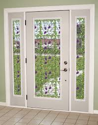 entry door stained glass replacement. create a beautiful custom look that lets the light through while adding privacy with grapevine see entry door stained glass replacement