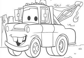 Small Picture Cartoon Coloring Pages Cars Coloring Pages