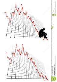 profit loss graph business profit loss graphs stock illustration