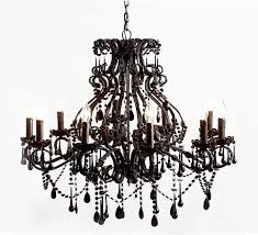 sassy boo large black 10 arm chandelier french chandeliers pertaining to stylish property large black chandelier designs
