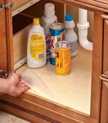 under the sink mat