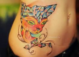 татуировка кот значение эскизы тату и фото