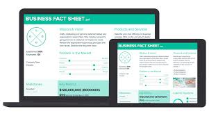 Company Fact Sheet Sample Fact Sheet Template And Examples Xtensio