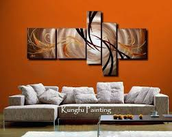 wall art best pictures paintings for living room delightful beautiful amazing handmade modern five panel abstract oil pai