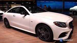 2018 mercedes benz e400. interesting mercedes 2018 mercedes e class coupe e400  exterior interior walkaround debut at  2017 detroit auto show youtube with mercedes benz e400