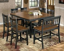 espresso dining table set round dining table set for 8 9 piece counter height dining set espresso dining table