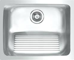 waterloo 18 gauge stainless steel undermount um single bowl laundry sink modern utility sinksundermount sinks australia