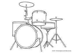Kleurplaat Drumstel Afb 5947 Images