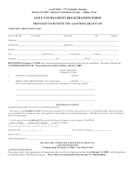 Auction Registration Form Template Free Registration Form Template Golf Tournament Registration