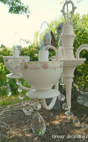 another teacup chandelier