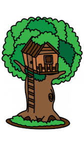 how to draw a treehouse step by step.  Draw Tree House Drawing Tutorial On How To Draw A Treehouse Step By O