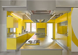 Yellow Kitchen Backsplash Nice Yellow Mexican Kitchen With Hardwood Cabinets Also Decorative
