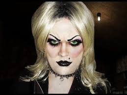 tiffany bride of chucky makeup tutorial you
