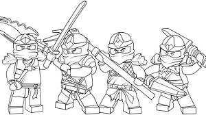 Lego Ninja Coloring Pages Dream Ninjago Sheet Solid Graphikworks Co